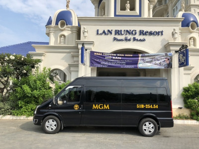 Thuê xe du lịch 16 chỗ tại Quy Nhơn