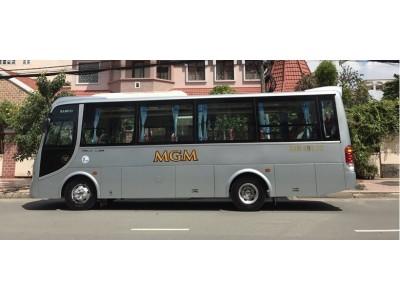 Cho thuê xe du lịch Isuzu Samco 29 chỗ giá tốt