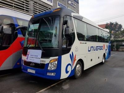 Cho thuê xe du lịch Hyundai Universe Mini 35 chỗ giá tốt