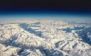Góc nhìn châu Âu từ buồng lái máy bay