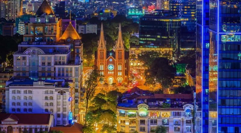 Sài Gòn đẹp ngỡ ngàng trong bộ ảnh chụp từ trên cao