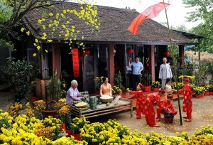 Thuê xe du lịch 35 chỗ dịp Tết Nguyên Đán tại TpHCM