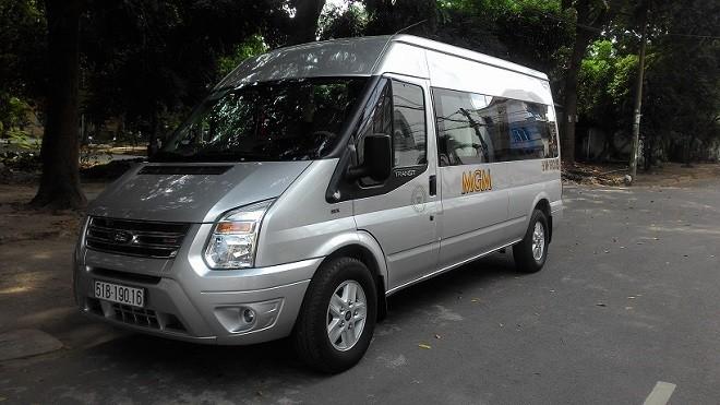 Thuê xe 16 chỗ ở đâu uy tín, chất lượng, giá rẻ tại Tp.HCM?