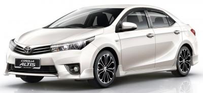 Cho thuê xe tháng Toyota Altis 4 chỗ giá tốt