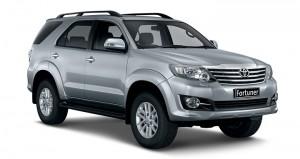 Cho thuê xe tháng Toyota Fortuner 7 chỗ giá tốt