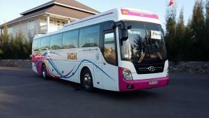 Cho thuê xe du lịch Hyundai Universe 45 chỗ đời mới
