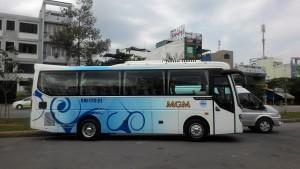Cho thuê xe du lịch Thaco Town 29 chỗ cao cấp
