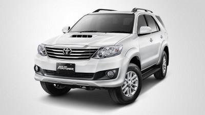 Cho thuê xe du lịch Toyota Fortuner 7 chỗ giá tốt