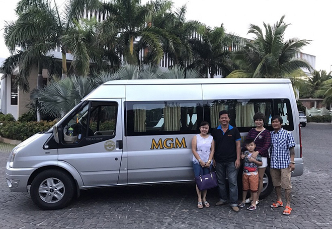 Thuê xe du lịch 16 chỗ đi Đà Lạt - Xe MGM