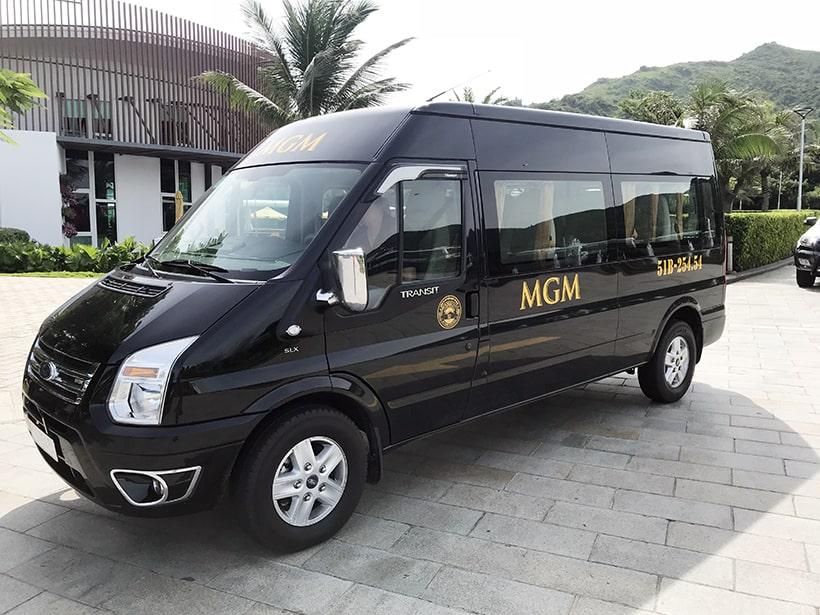 cho thuê xe 16 chỗ cao cấp MGM