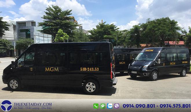 dịch vụ cho thuê xe du lịch 16 chỗ cao cấp