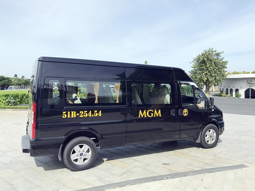 công ty cho thuê xe 16 chỗ MGM