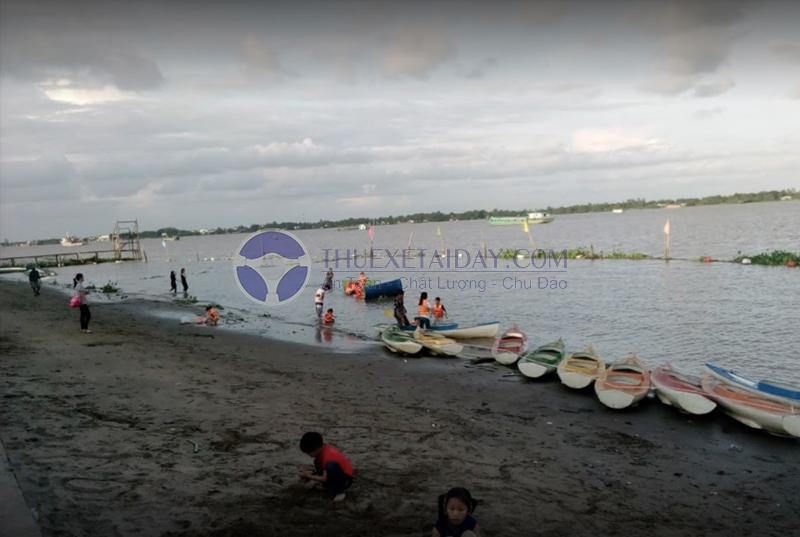 Bãi biển Cần Thơ - Bãi biển nhân tạo lớn nhất Cần Thơ