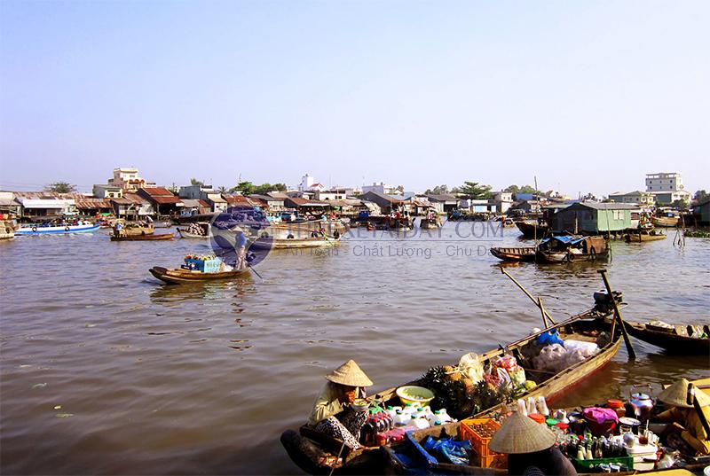 Chợ nổi Cái Răng - Đặc trưng của miền sông nước